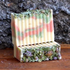 Little Dipper Goat's Milk Peppermint & Rosemary Soap Bar