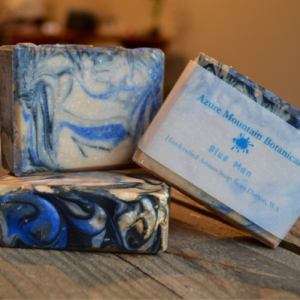 Blue Man Soap Bar