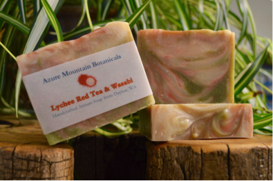 Lychee Red Tea & Wasabi Soap