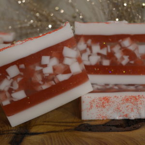 Peppermint Candy Glycerin Soap