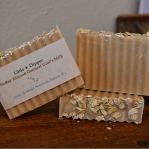 Honey Almond Oatmeal Goat's Milk Soap Bar