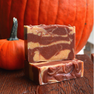 Pumpkin Pearl Soap