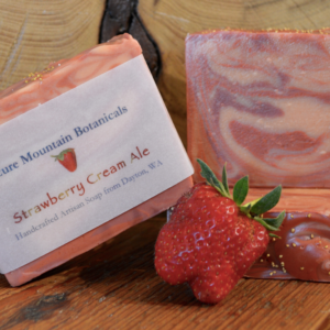 Strawberry Cream Ale Soap